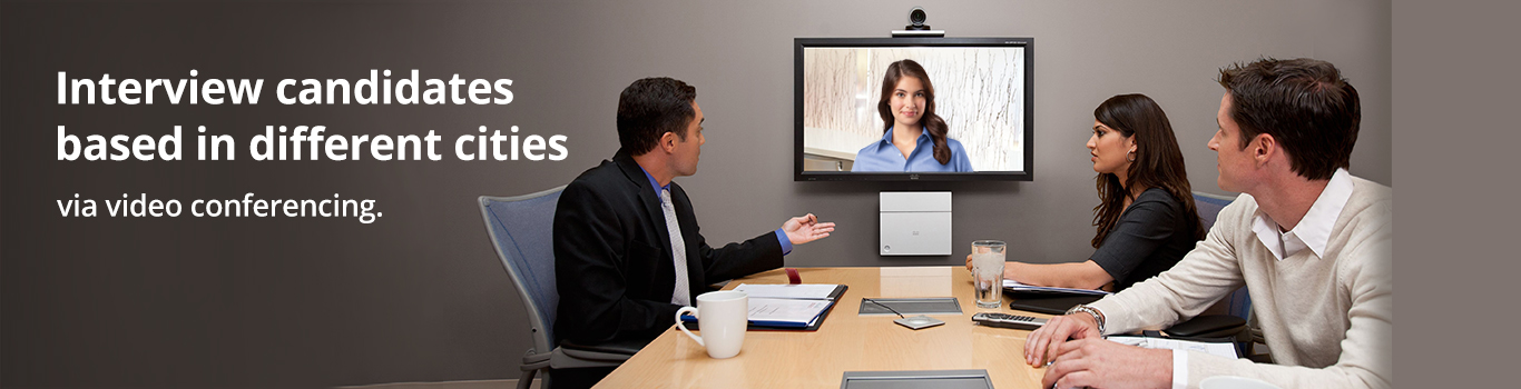 video conferencing solutions for HR, Sales, Employee Training, Product Launches
